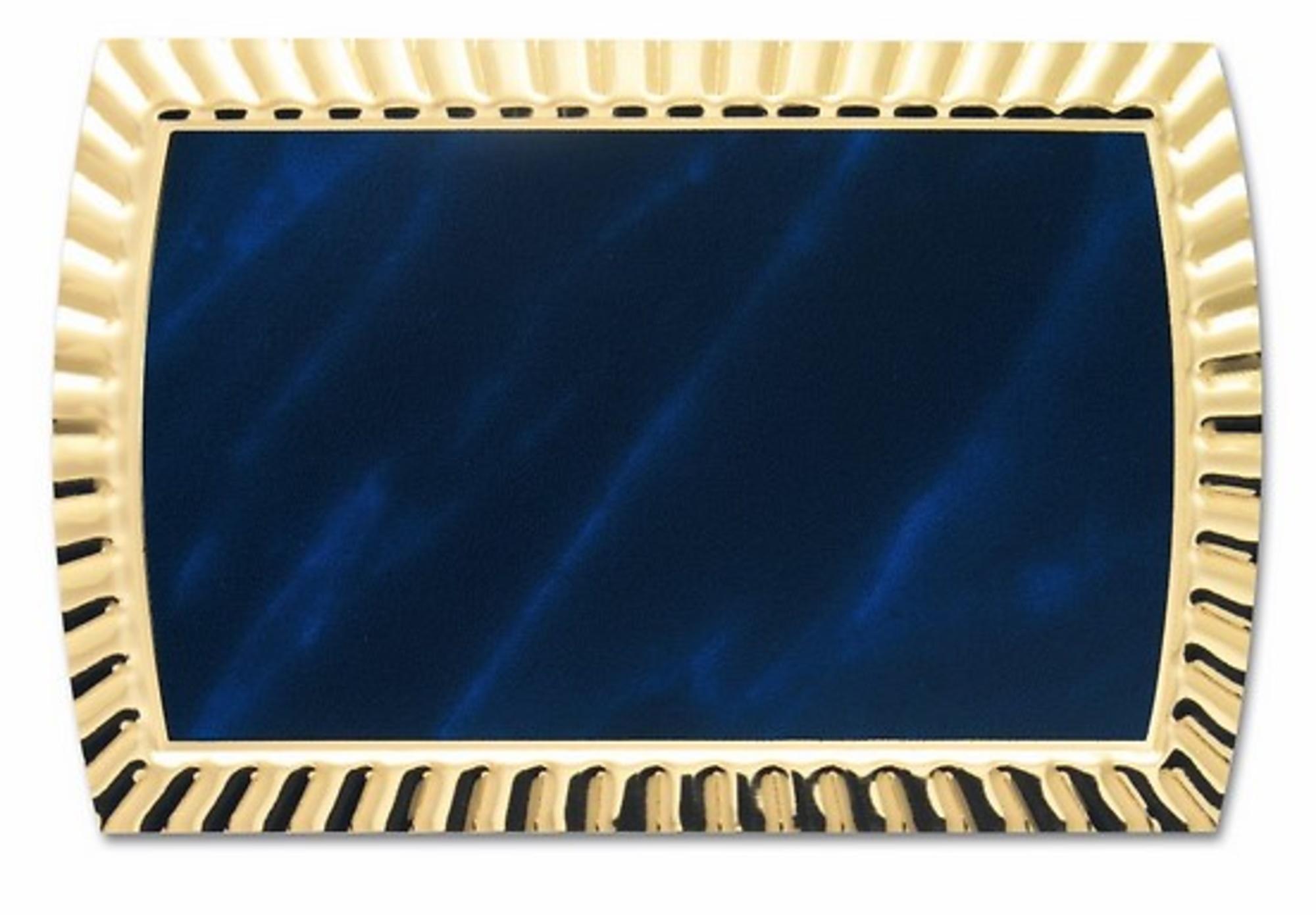 Placa aluminio Palencia