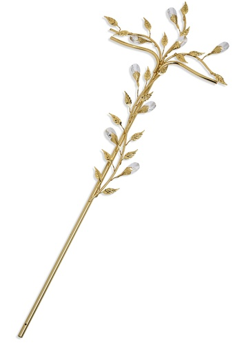Cruz hojas de Cristal